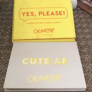 Colourpop Cute Af eyeshadow palette  Collectible